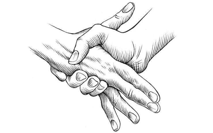 Хруст костей - рукопожатие