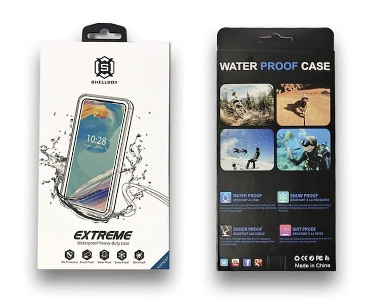водонепроницаемый чехол SHELLBOX для iPhone