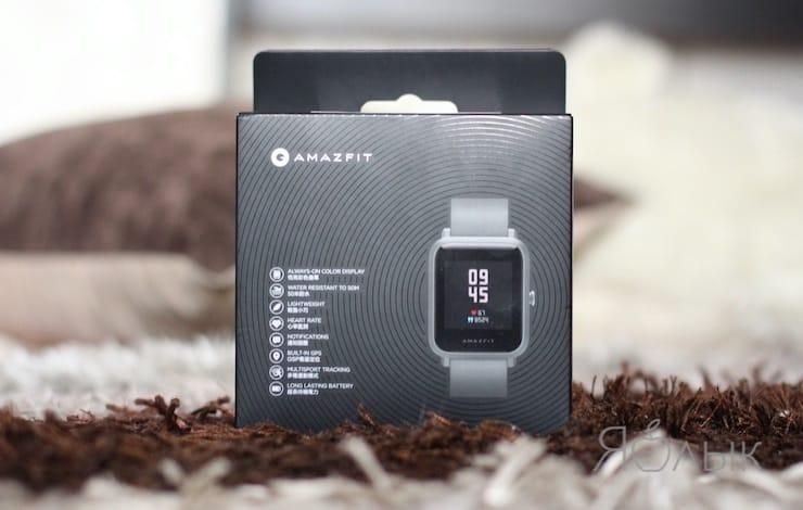 Комплект поставки Amazfit Bip S