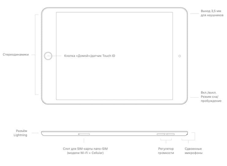 iPad mini 5, 2019 год