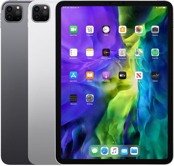 iPad Pro (11 дюймов, 2-го поколения) 2020 год