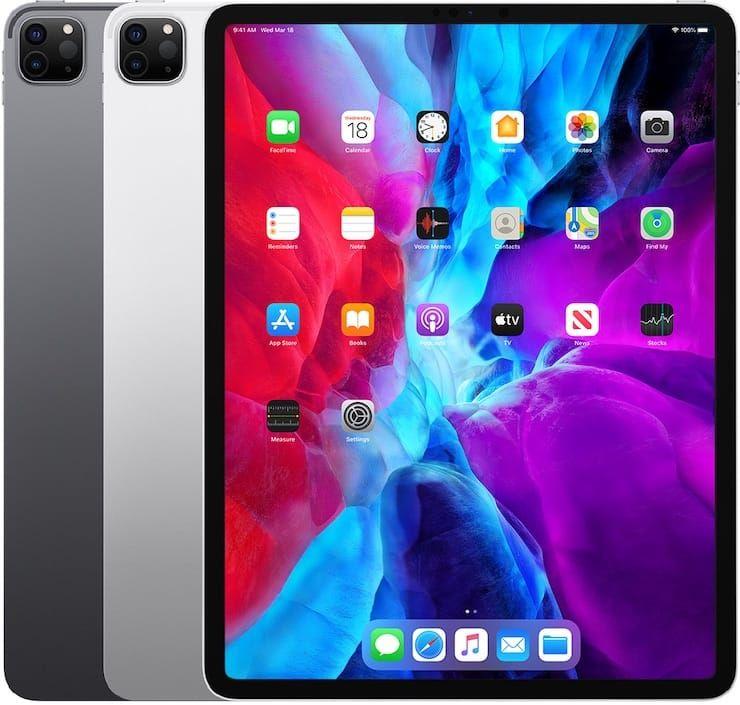 iPad Pro (12,9 дюйма, 4-го поколения) 2020
