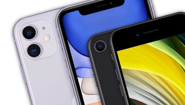 Сравнение iPhone SE 2 2020 года и iPhone 11
