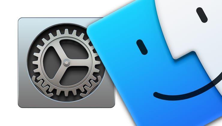 Настройки Finder macOS