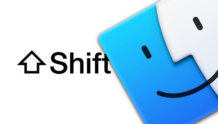 Возможности клавиши ⇧Shift на Mac (macOS)