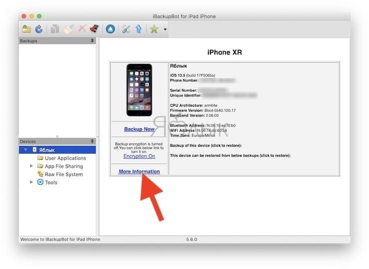 Как узнать количество пройденных циклов перезарядки iPhone на компьютере Mac или Windows?