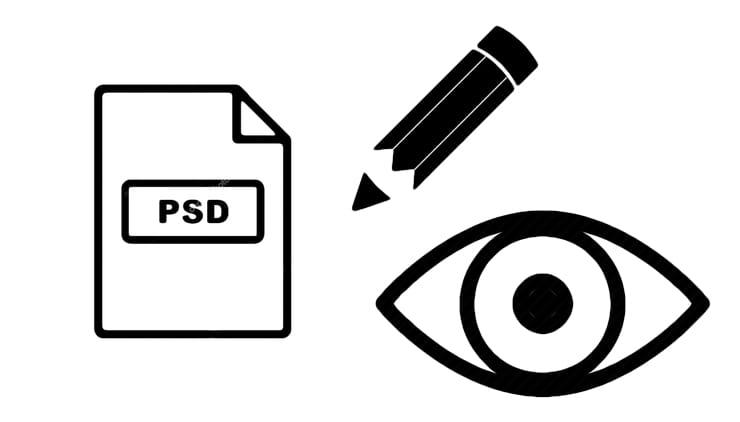 Как открыть файл в формате PSD без Фотошопа онлайн или на компьютере
