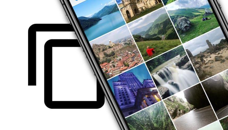 Как на iPhone и iPad делать дубликаты фотографий