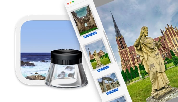 Как изменить размер нескольких фото одновременно на Mac (macOS) без установки дополнительных программ