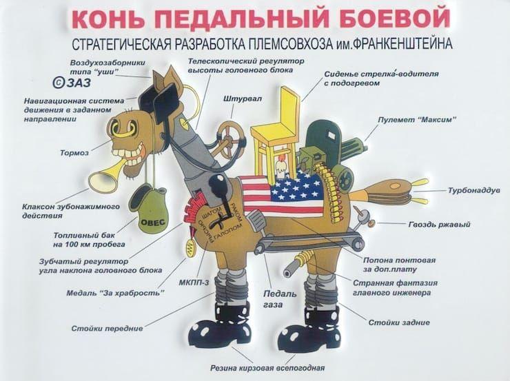 «конь педальный»