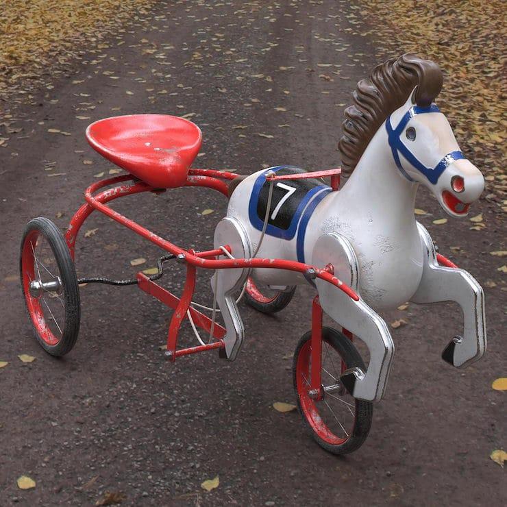 Что означает «конь педальный»?