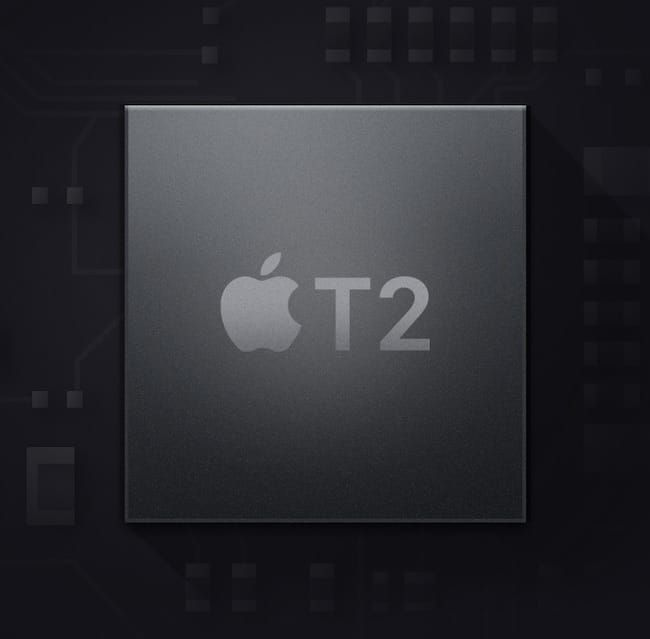 чип Apple T2 Security в MacBook Pro 2020