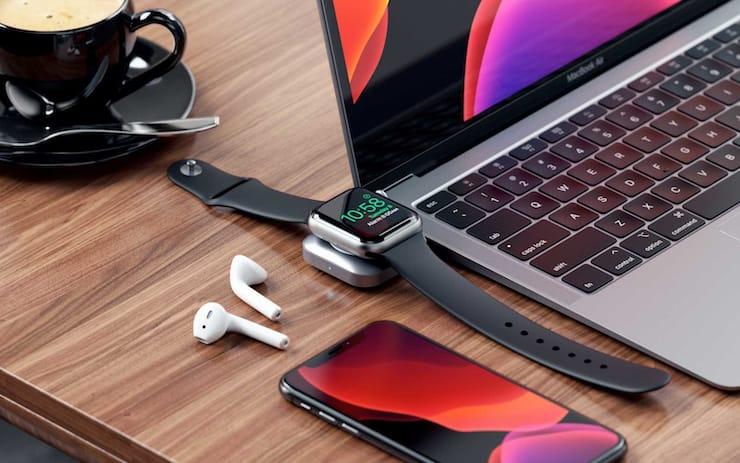 Как заряжать Apple Watch от iPad Pro или Mac: обзор док-станции от Satechi