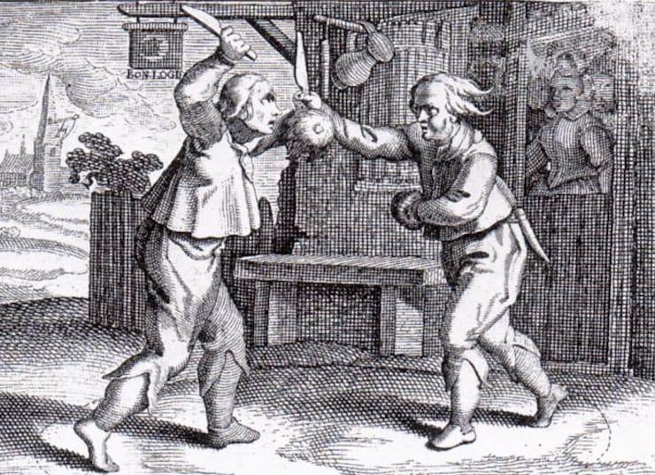 сникерсни - бой на ножах