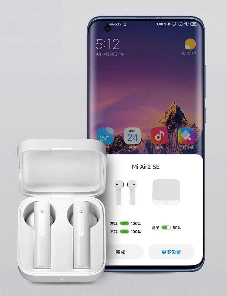 Обзор Xiaomi Air 2 SE: достойные беспроводные наушники за 2 000 рублей