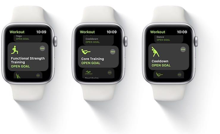 watchOS 7 на Apple Watch
