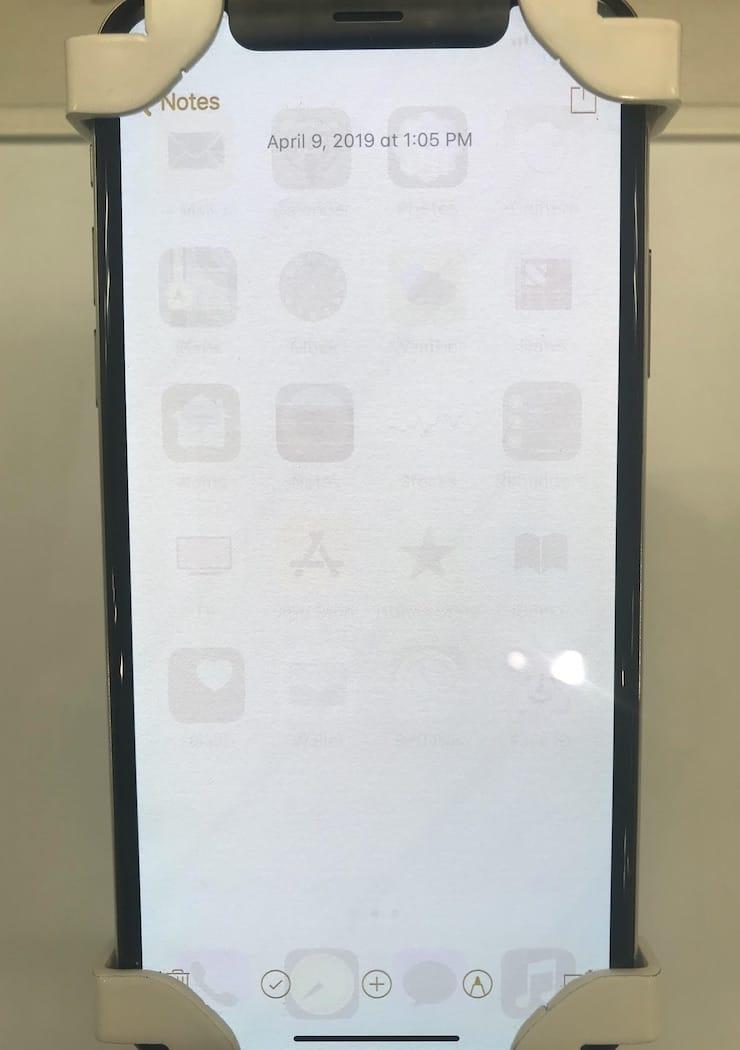 Выгорание экрана iPhone