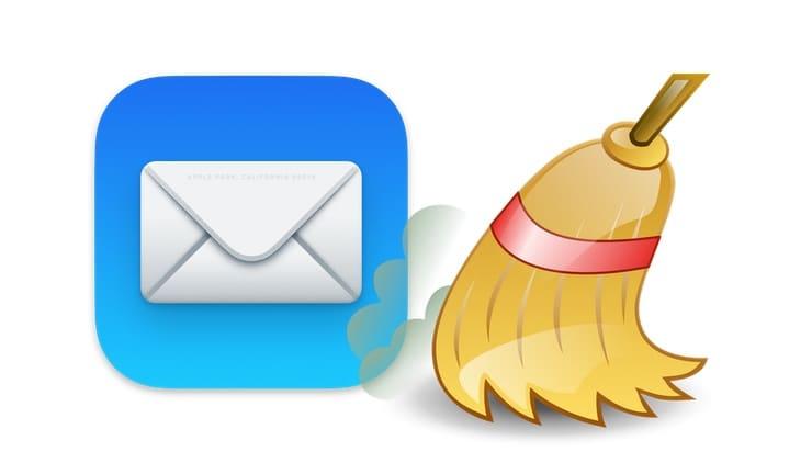 Как почистить почту на Mac