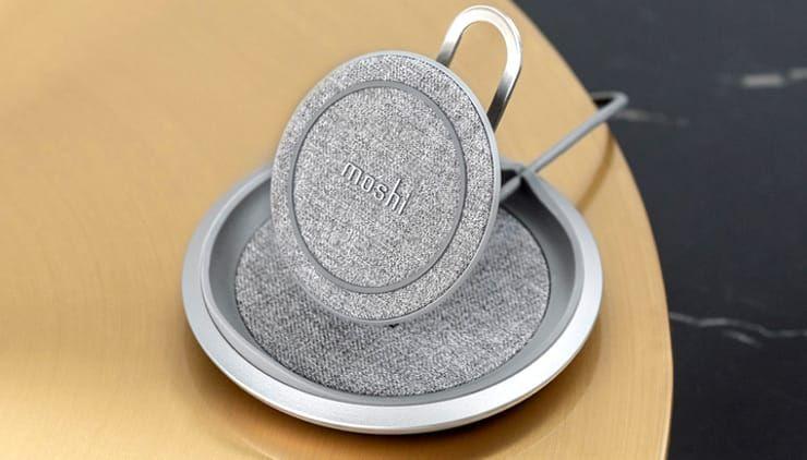 Обзор Moshi Lounge Q: качественная и функциональная беспроводная зарядка