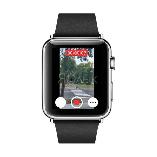 Как пользоваться Камерой (фото и видео) в Apple Watch