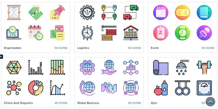 Flat Icon: Бесплатные значки
