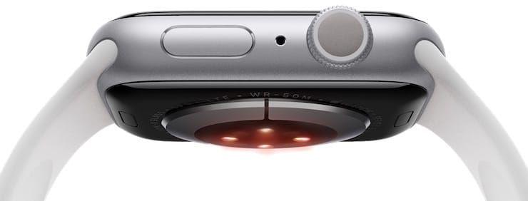 Датчик уровень кислорода в крови на Apple Watch
