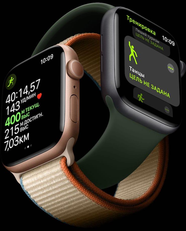 Дисплей Apple Watch Series 6