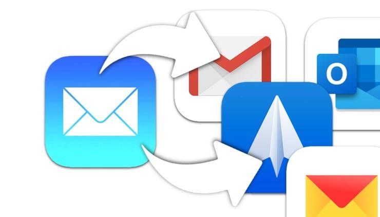 Как установить Gmail (или Spark и т.д.) по умолчанию вместо почты Apple на iPhone и iPad