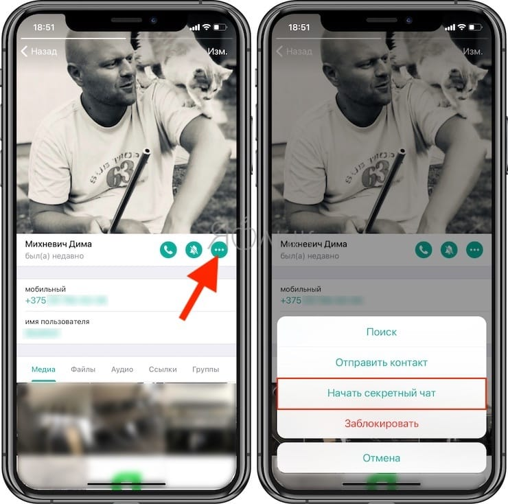Как в Telegram отправлять самоудаляющиеся сообщения