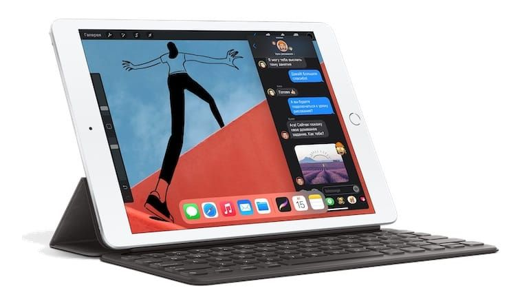 Дизайн, интерфейсы и размеры iPad 8 2020 года