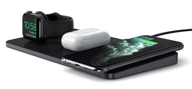 Satechi Trio Wireless Charging Pad - wireless charging station