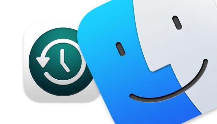 Резервные копии в Time Machine на Mac