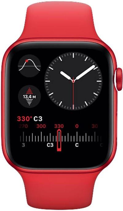 Высотомер в Apple Watch