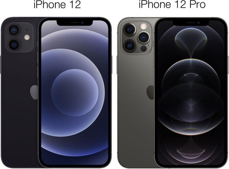 Размеры iPhone 12 и iPhone 12 Pro