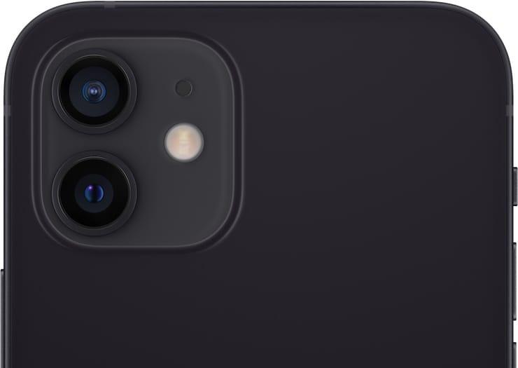 Камеры в iPhone 12 и iPhone 12 mini