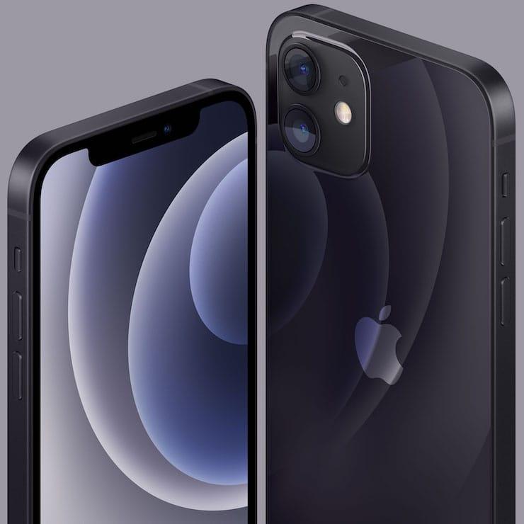 Цвета iPhone 12 и iPhone 12 mini