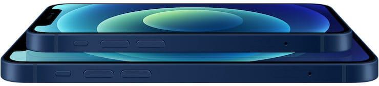Дизайн iPhone 12 и iPhone 12 mini