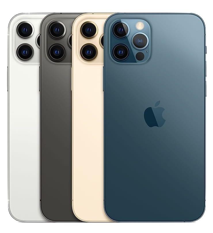 Цвета iPhone 12 Pro и iPhone 12 Pro Max