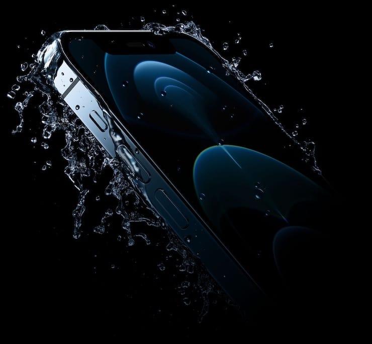 Водонепроницаемость iPhone 12 Pro и iPhone 12 Pro Max