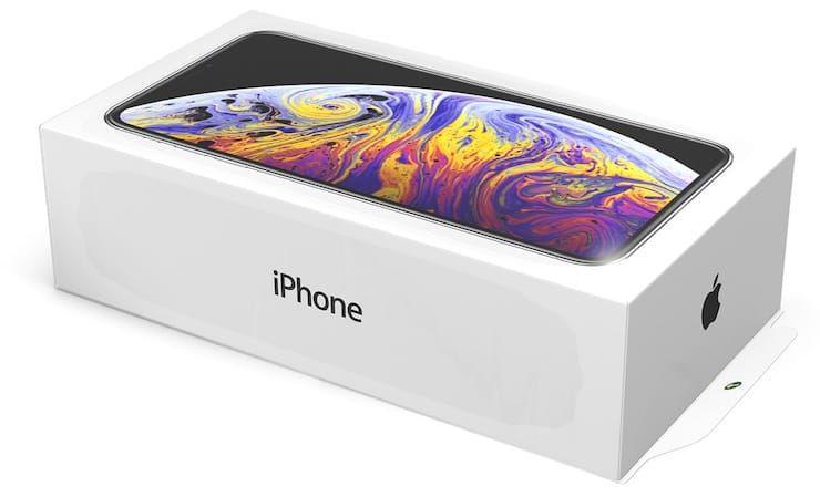 iPhone XS коробка