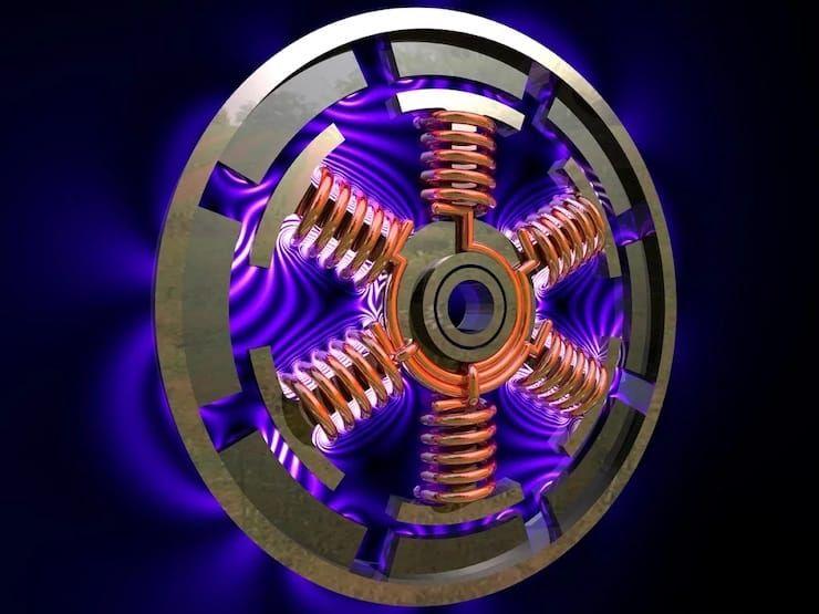 Двигатель Тесла логотип