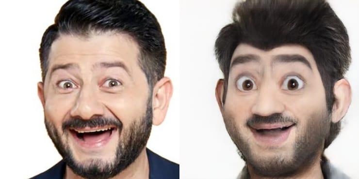 Как превратить человека на фото в мультяшный персонаж Диснея
