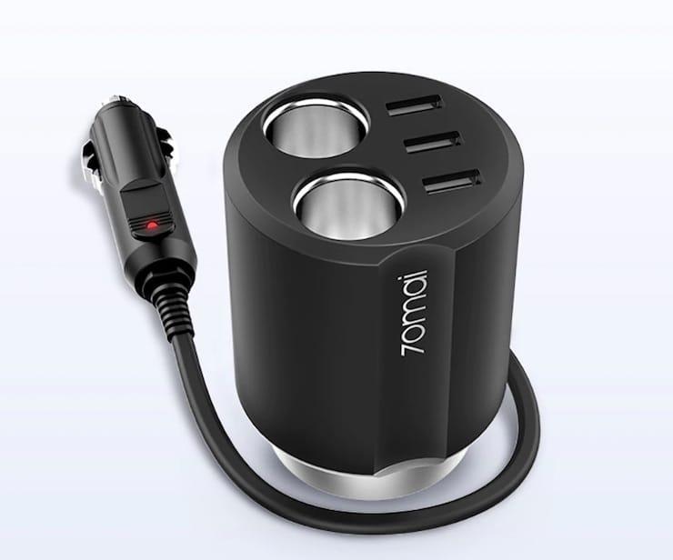 Разветвитель прикуривателя 70mai Car Cigarette Lighter Charger