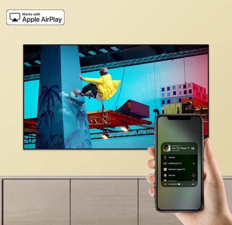 Телевизор с AirPlay 2
