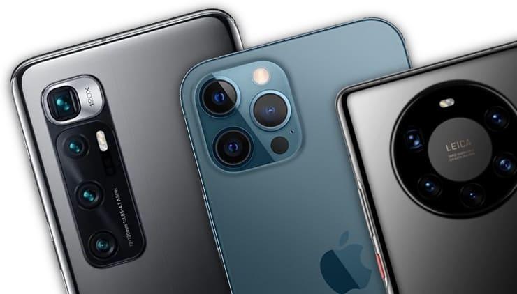 В каком смартфоне самая лучшая камера в 2021 году – Топ 15