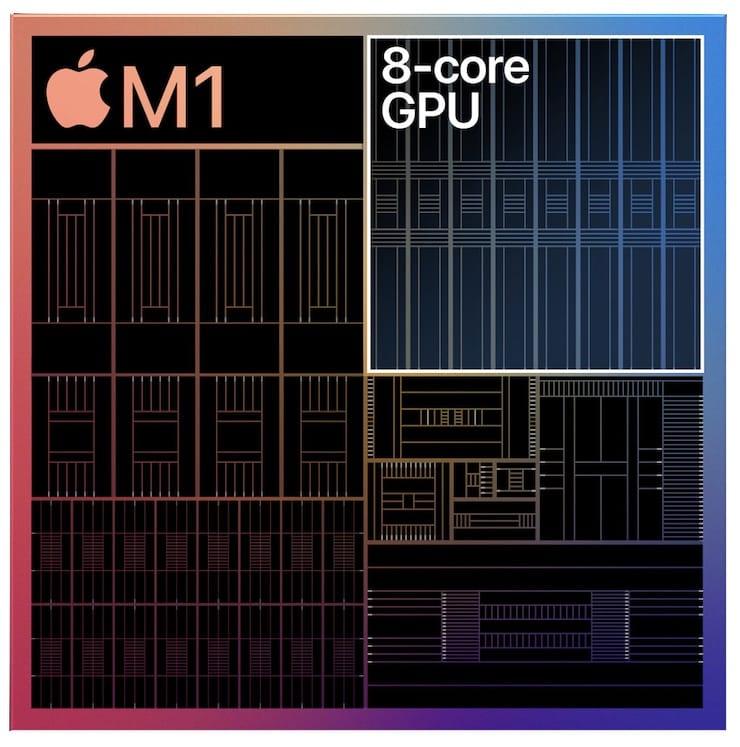 Графический Apple M1