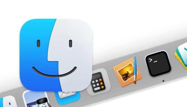 Dock на Mac (macOS)