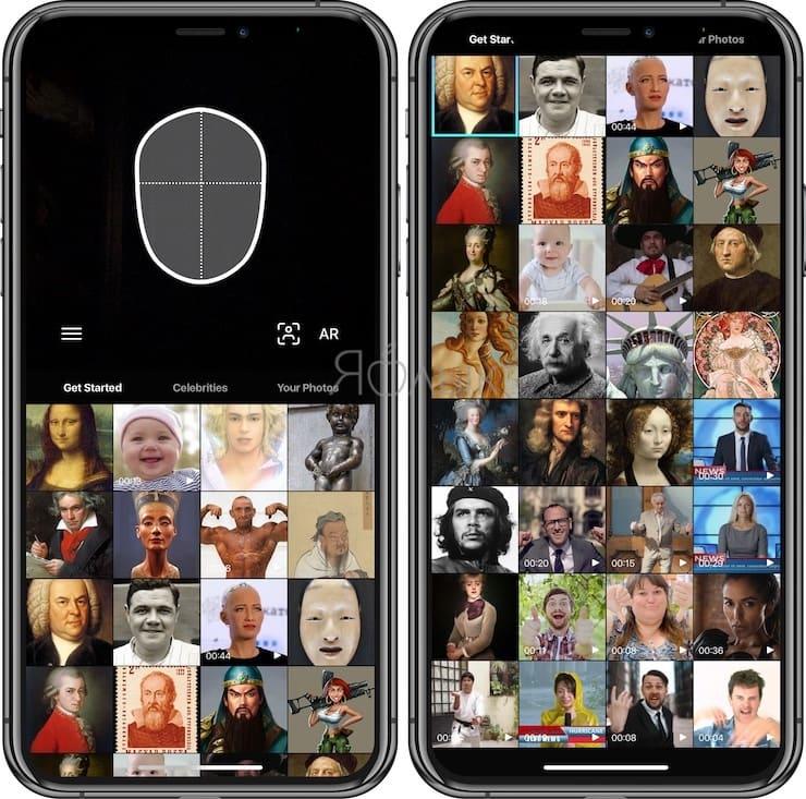 Как сделать Deepfake (Дипфейк) анимацию из фото или видео на iPhone