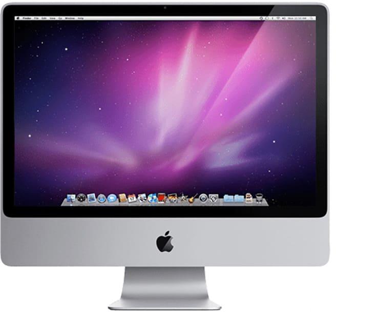 iMac (24 дюйма, начало 2009 г.)