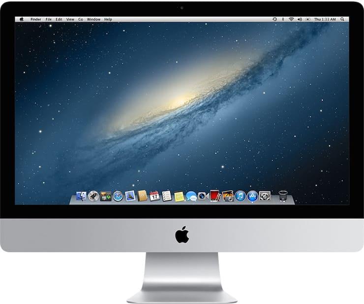 iMac (27 дюймов, конец 2012 г.)